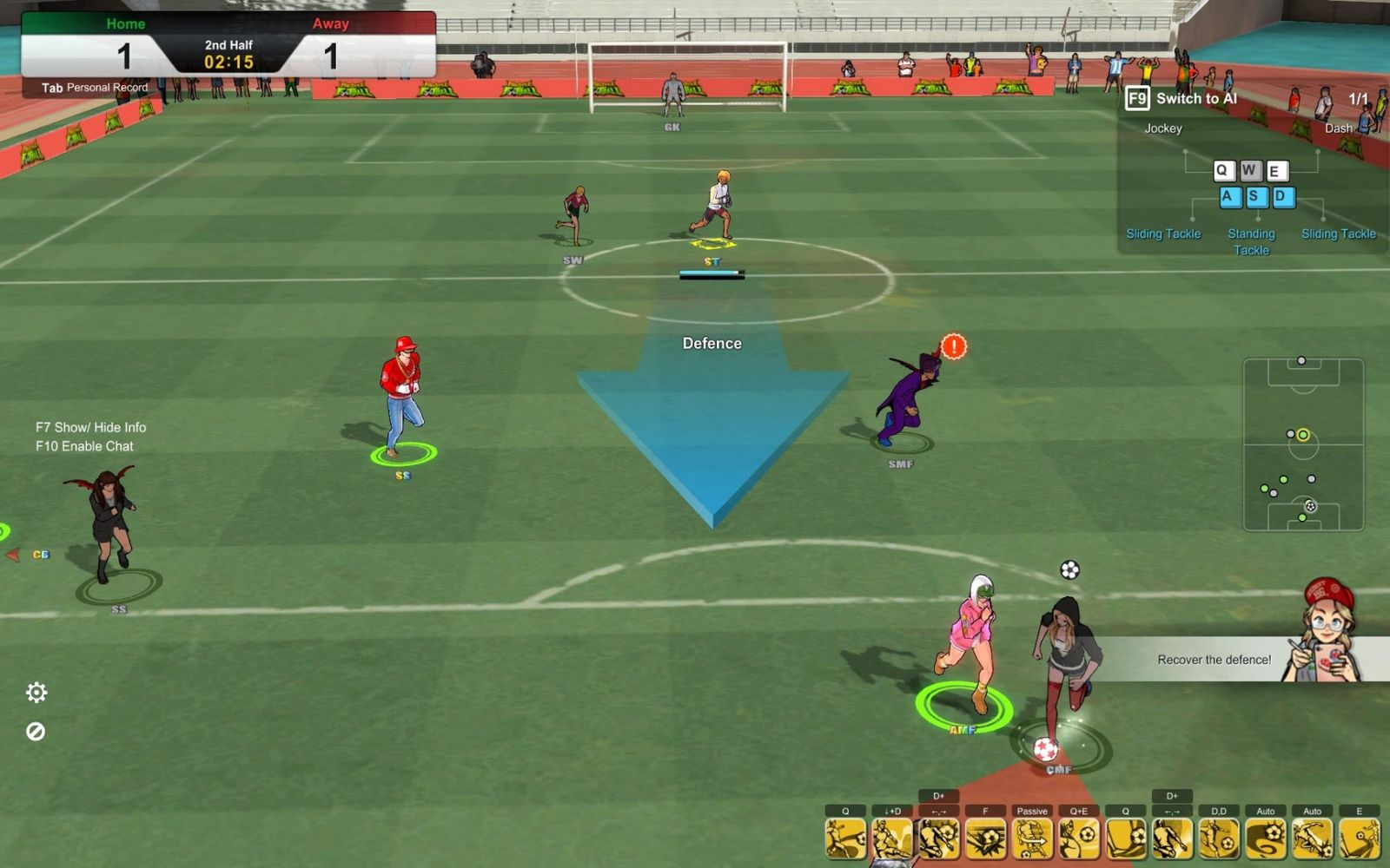 Top 5 football games you can play online for free | The Ball Is Square