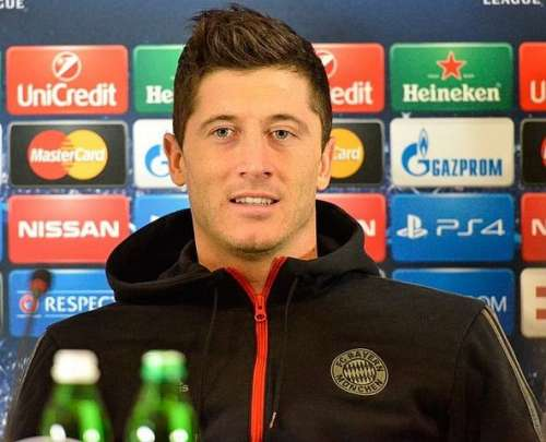 Lewandowski reveals admiration for Arsenal striker